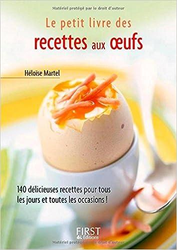 Le Petit Livre De Recettes Aux œufs Amazon Ca Martel Heloise