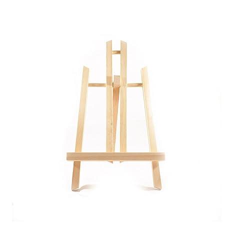 Caballete para pintura trípode de madera de mesa regulable 50 cm ...