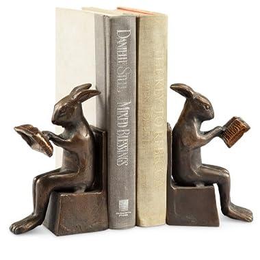 Spi Home Studious Rabbit Bookends
