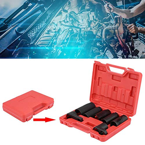 "Keenso 7 Pcs Oxygen Sensor Wrench Socket Removal Set Tool Kit Injector Removal Socket Set 3/8"" & 1/2"" Drive Sockets by Keenso (Image #5)"