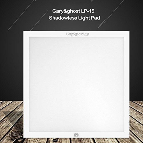 GARY AND GHOST LP15 LED Photography Shadowless Bottom Light, Photo Booth Background Light, Outline Sharpness Back Light, Table Top Photography Studio Lighting, Light Pad for Light Box, with Free Gift by Gary&ghost