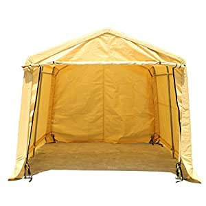 New MTN-G Portable Garage Storage Shed Auto Shelter Logic Canopy Carport Steel Cover Tent