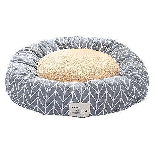 thematys Hunde-Bett mit wendbarem Kissen I Katzen-Bett I Kuschelbett Weich I Hundekissen I Hundekorb in 2 verschiedenen…
