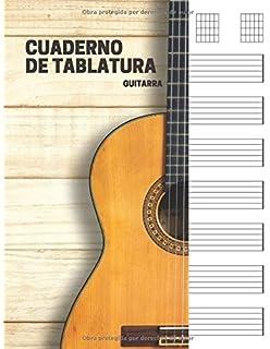Cuaderno de tablatura guitarra: 7 tabs por página. Ideal para ...