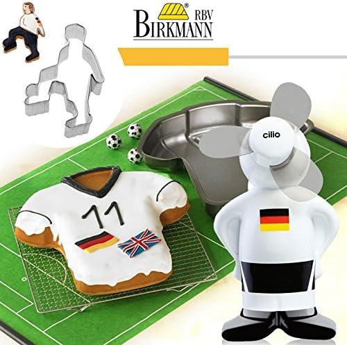 RBV Birkmann – Molde Camiseta + Galletas forma + Ventilador: Amazon.es: Deportes y aire libre