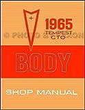1965 Pontiac GTO, Tempest, and LeMans Body Shop Manual Reprint