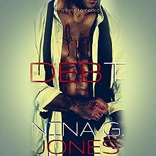 Debt Audiobook by Nina G. Jones Narrated by Mackenzie Harte, Rock Engel