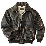 Orvis The Spirit Leather Flight Jacket / Spirit Leather Flight Jacket, Brown, Large