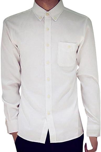 Camisas Slim Fit Hombre, Trajes Camisa Ocasionales Formales Oxford de la Manga Larga para Hombre, Slim Fit Camisetas Blusas Tops Manga Larga Hombre por Venmo: Amazon.es: Ropa y accesorios