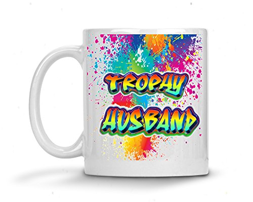 Trophy Husband Coffee Mug - Best Husband Cup