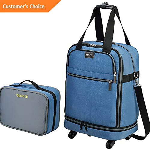 Amazon.com | Sandover biaggi ZipSak 22 MicroFold Carry On Duffle 3 Colors Travel Duffel NEW | Model LGGG - 1077 | | Travel Duffels