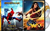 DVD : DC Cinematic Universe Wonder Woman 2-Disc Set & Spider-Man Homecoming Bundle Super Hero Double Feature