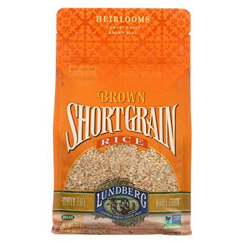 Lundberg Family Farms Organic Short Grain Brown Rice - Case of 6 - 2 lb. by Lundberg