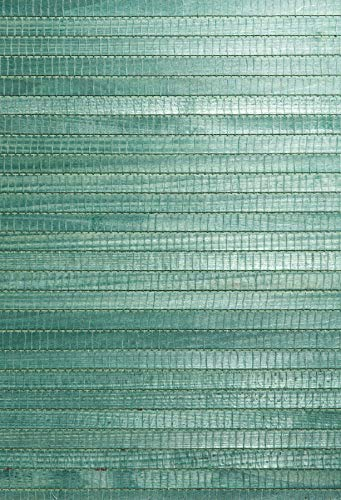 - Kenneth James 63-54728 Kumi Grass Cloth Wallpaper, Green
