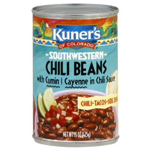 Kuner's Chili Beans, 15-ounces (Pack - Beans Kuners
