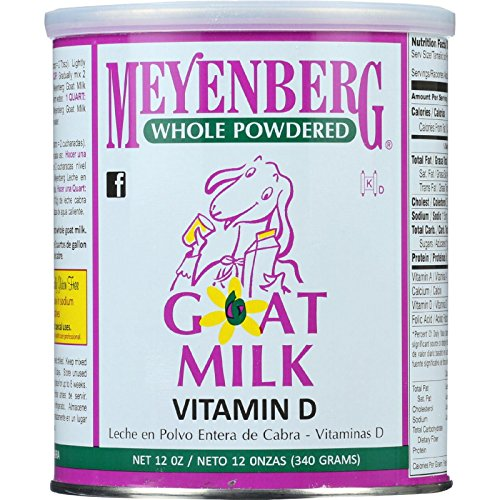 Amazon.com : Meyenberg Goat Milk - Powdered - 12 Oz - Case Of 12 : Beauty