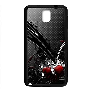 Creative Black Pattern Custom Protective Hard Phone Cae For Samsung Galaxy Note3