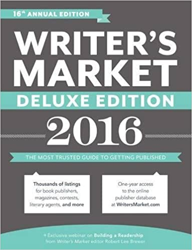 Writers market deluxe edition 2016 the most trusted guide to writers market deluxe edition 2016 the most trusted guide to getting published robert lee brewer 9781599639420 amazon books fandeluxe Choice Image
