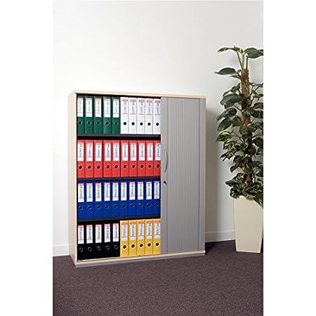 OfficeCentre 811370 - Archivador de anillas con palanca, negro: Amazon.es: Oficina y papelería