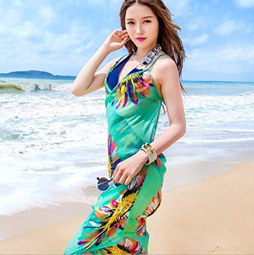 Bhbuy-Chiffon-Beach-Swimwear-Shawl-Sarong-Wrap-Dress-Bikini-Cover-Up-Scarf