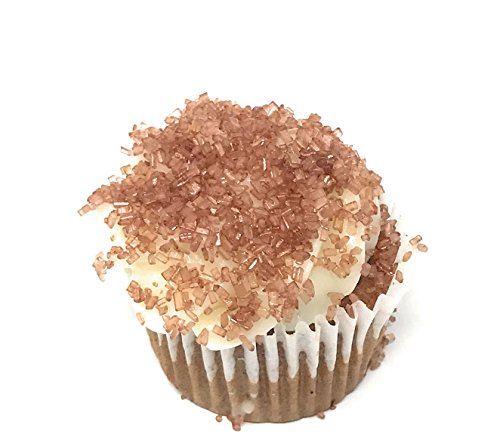 Ultimate Baker Copper Decorating Sugar - Kosher Certified Natural Large Crystal Decorating Sugar (1lb Bag Copper Color Sugar) by Ultimate Baker (Image #2)