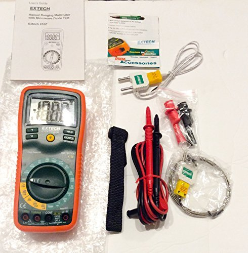 Extech EX410Z Manual Ranging Digital Multimeter with Type K