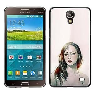LECELL--Funda protectora / Cubierta / Piel For Samsung Galaxy Mega 2 -- mujer sexy ojos chick joven labios lingerie --