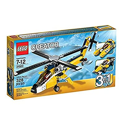 LEGO 31023 Creator Yellow Racers Building Toy: Toys & Games