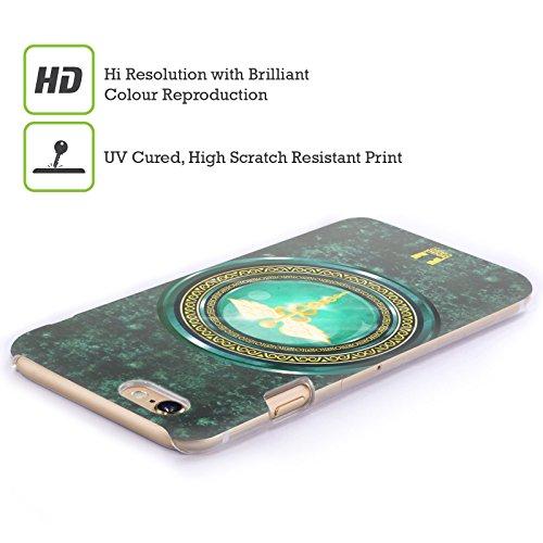 Head Case Designs Verde Scudi Dellolimpo Cover Retro Rigida per Apple iPhone 7 Plus / 8 Plus