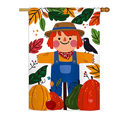 Ornament Collection HS192135-P3 Sweetie Scarecrow Fall Harvest & Autumn Impressions Decorative Vertical 28