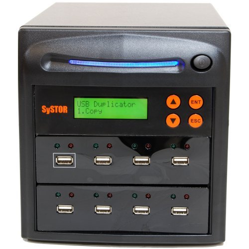 Systor SYS-USBD-7 1 to 7 Multiple USB Thumb Drive Duplicator / USB Flash Card Copier (Usb Flash Drive Duplicator)
