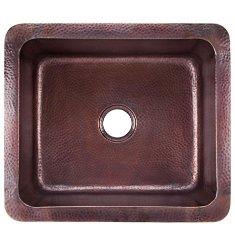 Thompson Traders KPU 1715BC Black Copper Como Bar/Prep Sink By Thompson  Traders By
