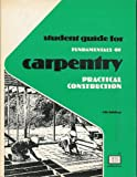 Fundamentals of Carpentry, Durbahn and Sundberg, 0826905714