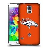 Official NFL Plain Denver Broncos Logo Hard Back Case for Samsung Galaxy Note5 / Note 5