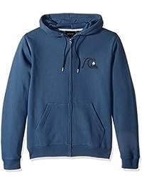 Quiksilver Men's Never Say Dye Zip Hooded Sweatshirt