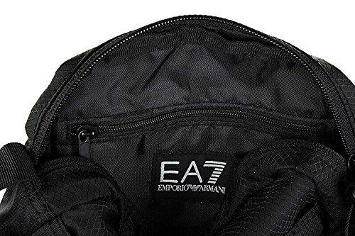 EA7 Train Prime Herren Cross Body Bag Schwarz Schwarz