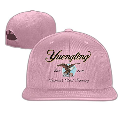 Yuengling And Sons Brewing Beer Baseball Hat Pink