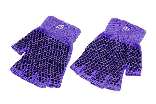 ProSource Grippy Non Slip Fingerless Multiple