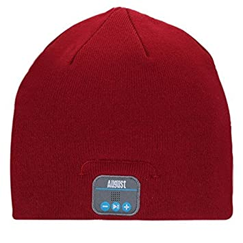 e1a440047f2 Amazon.com  August EPA20 – Bluetooth Headphone Hat - Winter Beanie Hat with  Bluetooth Stereo Headphones