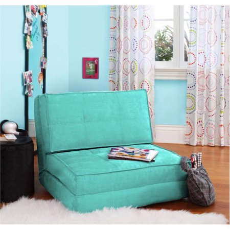 Space Saver Your Zone Flip Chair, Multiple Colors (Mint) by Your Zone