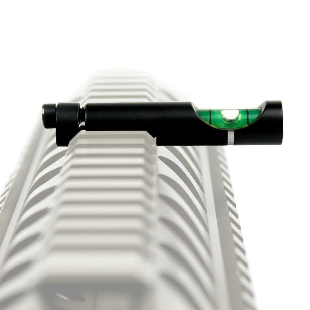 Balight Metall Wasserwaage Blase f/ür 20mm Gewehr Rohrschiene Picatinny Weaver Rail Rifle