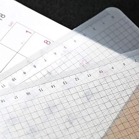 NOLOGO ZNUK 3pcs einfach transparent PP-Test Grid Pad A4 Cutting Mat Desktop-Briefpapier Lineal mit kalibrierter Schreibens-Brett Paper Size : A4