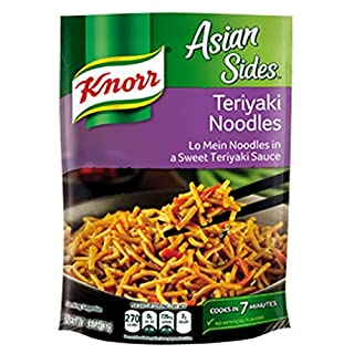 Knorr Asian Sides: Teriyaki Noodles (Pack of 3) 4.6 oz Bags