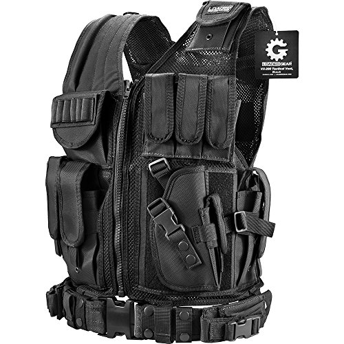(Barska Loaded Gear VX-200 Right Hand Tactical Vest)