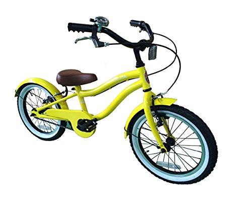 LeiAloha ~ レイアロハ ~ 16インチ YE <完成品> + 今なら自転車カバープレゼント! 【オリジナルブランド限定モデル】 B07115RN84