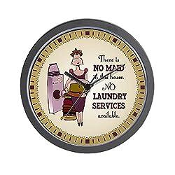 CafePress No Laundry Service Wall Clock Unique Decorative 10 Wall Clock