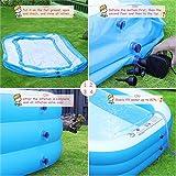 """efubaby Inflatable Pool, 120"""" X 72"""" X"""
