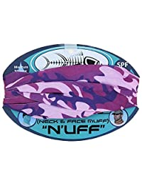 Tormenter N'uff Fishing SPF-40 Neck & Face Muff (Violet Camo)