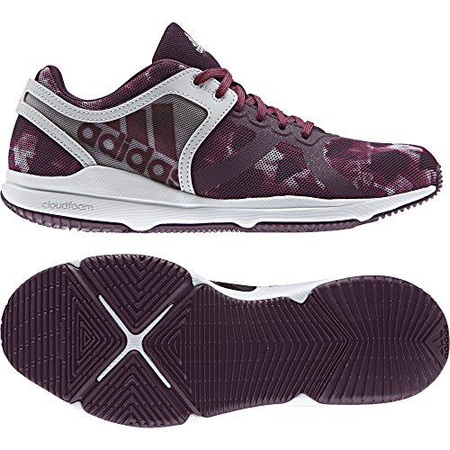 Femme Adidas W rubmis De Chaussures Cf Rouge rojnoc 000 plamet Fitness Crazytrain qqH4pg