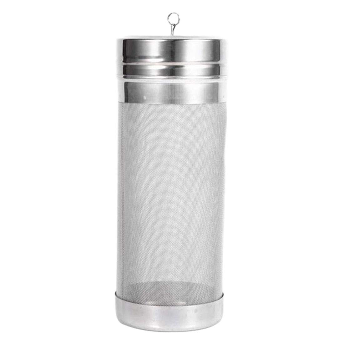 Best Quality 300 Micron Strainer Stainless Steel Homemade Brew Beer Hop Mesh Filter, Stainless Steel Mesh - Beer Filters, Stainless Mesh, Stainless Filter Basket Brew Beer, Beer Brewing Filter by KedyStore-TM